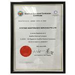 Singapore Certifications